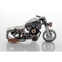 Metalowy motocykl